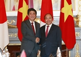 Prime Minister Nguyen Xuan Phuc Hopes for More Investments from Japan