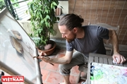 Dan Drage un peintre américain épris du Vietnam