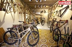 세계로 뻗어나가는 베트남 대나무 자전거