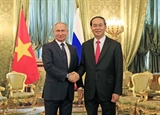 Presidents visits lift up Vietnams partnership with Russia Belarus