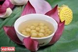 Sopa de semillas de loto esencia de la gastronomía de Hanoi