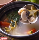 Clam  Star Fruit Soup