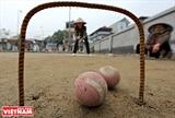 Le club de croquet du village de Xuân Bach