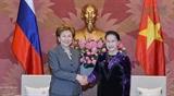Председатель НС Вьетнама приняла руководителей парламента РФ Председателя парламента Республики Фиджи