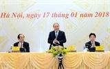 Премьер Вьетнама принял участие в итоговой конференции правительственной канцелярии