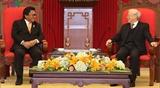 Руководители Вьетнама приняли Председателя Совета представителей регионов Индонезии