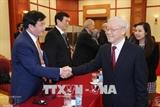 Руководители Вьетнама приняли главы делегаций принимающих участие в АТПФ-26