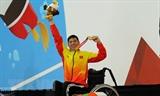 ຄະນະນັກກິລາຫວຽດນາມຍາດໄດ້ຫຼຽນລື່ນກາຍຄາດໝາຍທີ່ໄດ້ວາງອອກຢູ່ Asian Para Games 2018