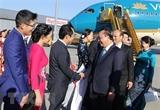 Thủ tướng Nguyễn Xuân Phúc đến Vienna bắt đầu thăm chính thức Áo
