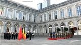 В Бельгии состоялась официальная церемония встречи Премьер-министра Вьетнама
