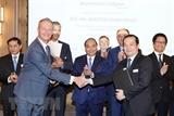 Nhiều Thỏa thuận hợp tác đã được ký kết tại Diễn đàn Doanh nghiệp Việt Nam-EU và Bỉ