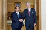 Премьер-министр Вьетнама нанёс визит королю Бельгии