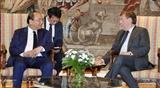 Премьер-министр Вьетнама встретился со Спикером Палаты представителей Бельгии