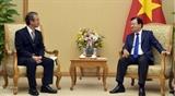Поощрение сотрудничества между вьетнамскими и японскими местностями