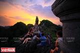 Красота Чанган с вершины горы Муа