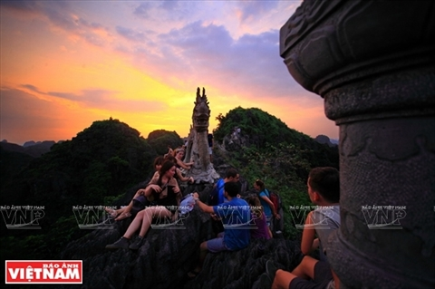 Mua Caves the best place to see beautiful Ninh Binh