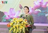 Спикер парламента приняла участие в праздновании 60-летия посещения Хо Ши Мином провинции Бакнинь