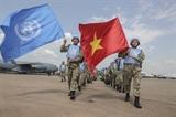 越南参加联合国南苏丹特派团维和行动