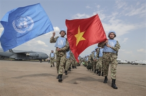 First Vietnamese doctors arrive in South Sudan for peacekeeping mission
