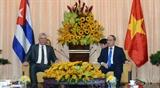 Председатель Госсовета и Совета министров Кубы посетил город Хошимин