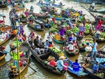 VNs floating markets among Southeast Asias most photogenic place