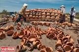 Гончарные изделия го деревни Биньдык