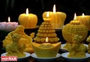 Les bougies artistiques de Duong Hoang Thong