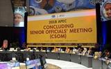 ກອງປະຊຸມສະຫຼຸບ ບັນດາເຈົ້າໜ້າທີ່ອາວຸໂສ APEC ກະກຽມໃຫ້ແກ່ສັບປະດາຂັ້ນສູງ APEC 2018