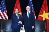 Премьер Вьетнама встретился с вице-президентом США Майком Пенсом