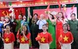 អគ្គលេខាបក្ស ប្រធានរដ្ឋវៀតណាមលោក Nguyen Phu Trong អញ្ជើញចូលរួម ទិវាបុណ្យមហាសាមគ្គីជាតិទាំងមូលនៅទីក្រុងហាណូយ
