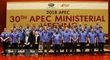 Phó Thủ tướng dự Hội nghị liên Bộ trưởng Ngoại giao-Kinh tế APEC