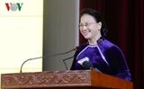 Председатель НСВ приняла участие в праздновании Дня вьетнамского учителя в Ханое