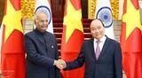 Руководители Вьетнама встретились с Президентом Индии