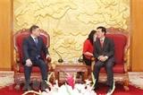 Đoàn đại biểu Đảng Nur Otan Cộng hòa Kazakhstan thăm Việt Nam