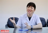 A devoted Japanese physiotherapist for Vietnamese patients