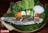 Món cá hóa thạch thơm phức
