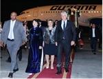 Presidente de Cuba inicia visita en Vietnam (fotos)