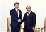 Премьер-министр Вьетнама принял Председателя южнокорейского корпорации SK Group