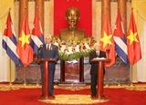Relaciones con Vietnam poseen un carácter histórico y especial afirmó presidente de Cuba