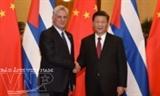 ប្រធានរដ្ឋចិនលោក Xi Jinping អំពាវនាវអោយបើកជំពូកថ្មីមួយក្នុងទំនាក់ទំនងមិត្តភាពប្រពៃណីរវាងចិននិងគុយបា