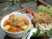 Traveller names three Vietnamese treats among top dishes
