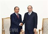 Премьер-министр Вьетнама принял Министра юстиции Лаоса