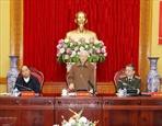 Генсек ЦК КПВ президент СРВ принял участие в конференции парткома Центрального комитета милиции
