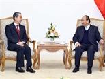 Thủ tướng Nguyễn Xuân Phúc tiếp Đại sứ Trung Quốc Đan Mạch