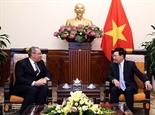 Вице-премьер глава МИД СРВ Фам Бинь Минь принял посла Египта