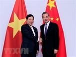 Вице-премьер Глава МИД Вьетнама провел переговоры с Главой МИД Китая