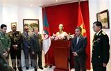 Kỷ niệm 74 năm Ngày thành lập quân đội nhân dân Việt Nam tại Algeria