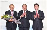 Главный тренер сборной Вьетнама Пак Хан Со сделал пожертвования на сумму 100 тыс.