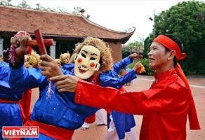 Bui Van Hung lâme de la danse Xuan Pha