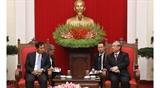 Делегация Партии солидарности и развития Союза Мьянмы находится во Вьетнаме с визитом